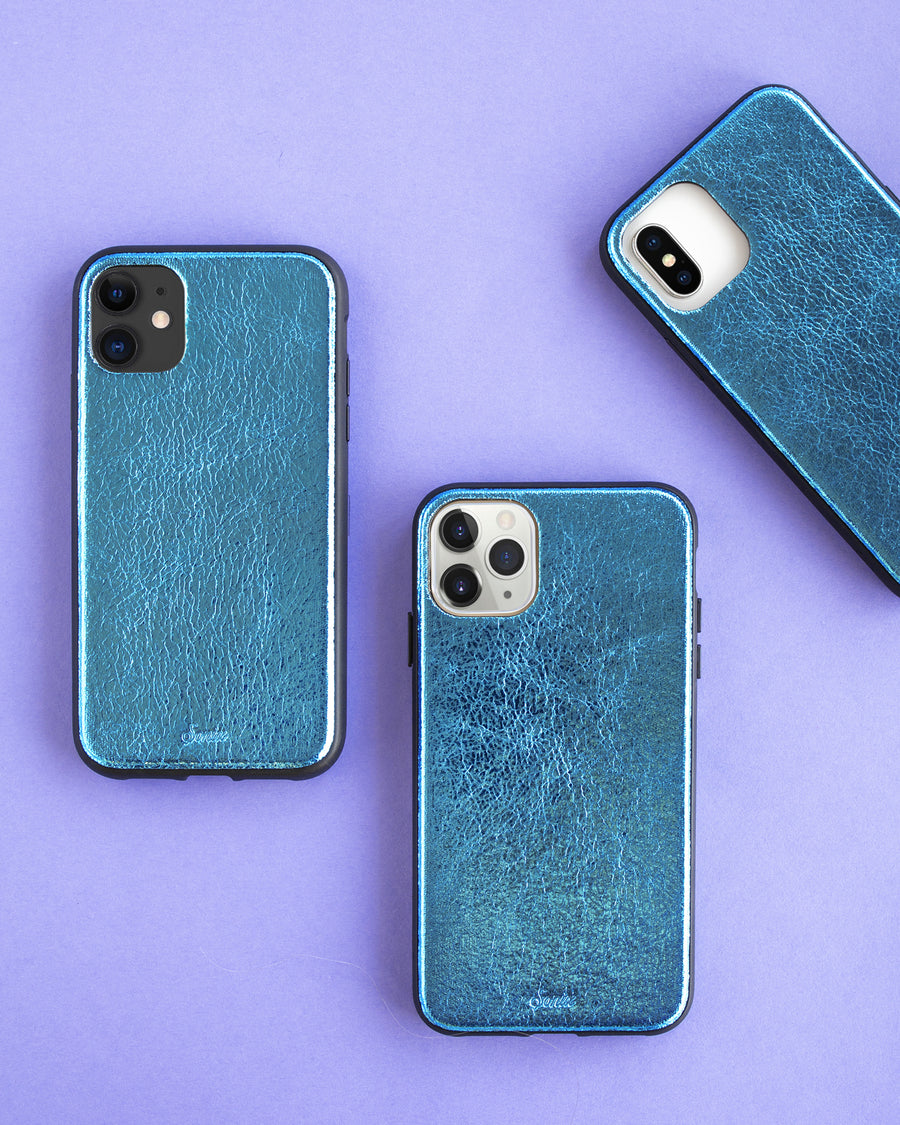 Roller Derby Metallic Blue, iPhone (11 / XR)