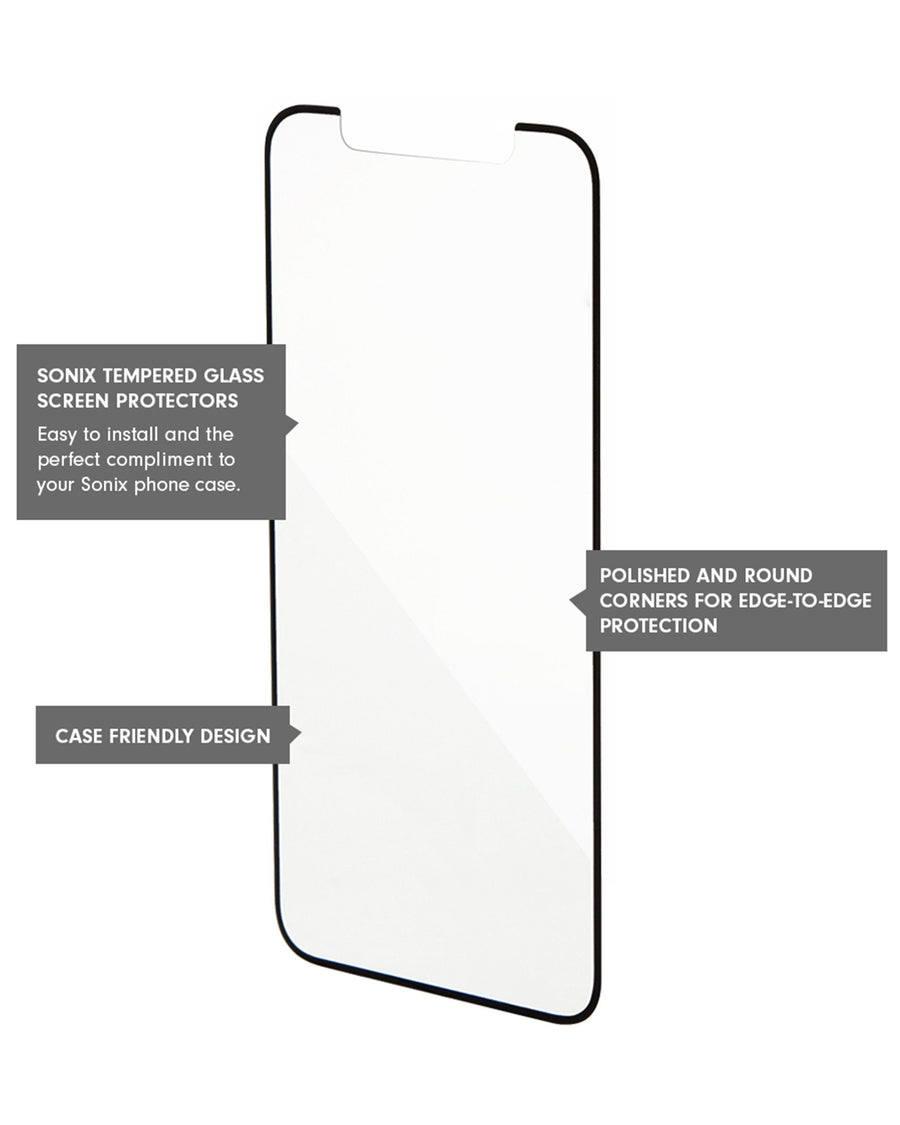 Edge to Edge Glass Screen Protector, iPhone X/XS