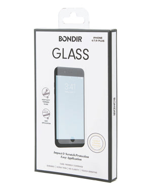 Flatlay Glass Screen Protector (2-Pack), iPhone 8/7/6 Plus Sale