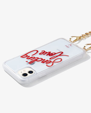 Crossbody Case - Sending Love, iPhone (11 / XR)