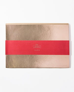 Stationery - Document Clutch - Rose Gold Pens + supplies