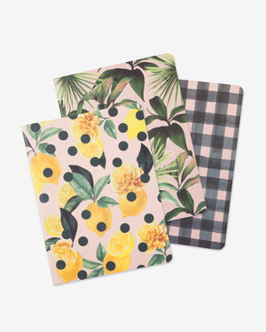 Stationery - Notebook Bundle - Limoncello Sonix paper