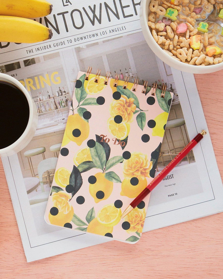 Stationery - To Do Pad - Lemon Zest