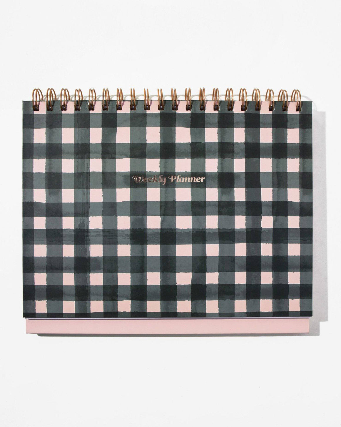 Stationery - Weekly Desk Planner - Gingham