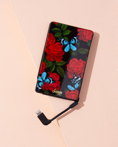 Tech Accessories - Butterfly Garden, Portable Charger