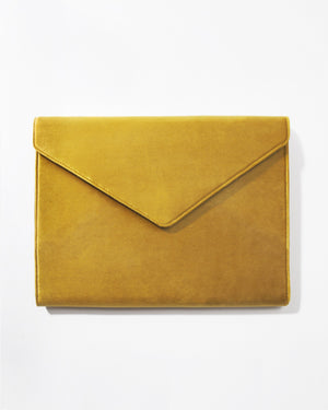 Tech Accessories - Canary Velvet Laptop Clutch New arrivals