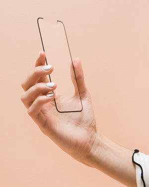 Tech Accessories - Edge To Edge Glass Screen Protector, IPhone XS Max Sale