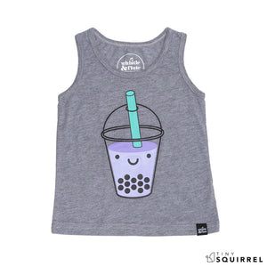 Kawaii Bubble Tea Tank Top