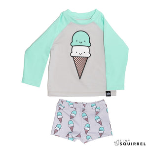 Kawaii Ice Cream Swim Set