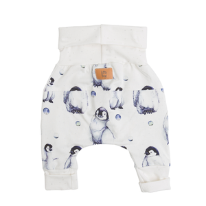Back of Little Moon grow-with-me pants by Little Yogi | Tiny Squirrel
