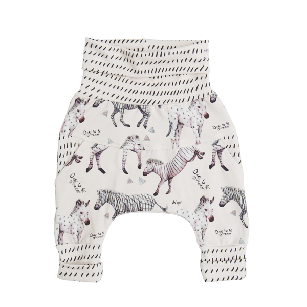 Grow-with-me pants | Little Zebras