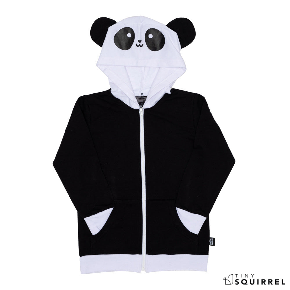 Kawaii Panda hooded sweatshirt from Whistle&Flute at the Tiny Squirrel boutique