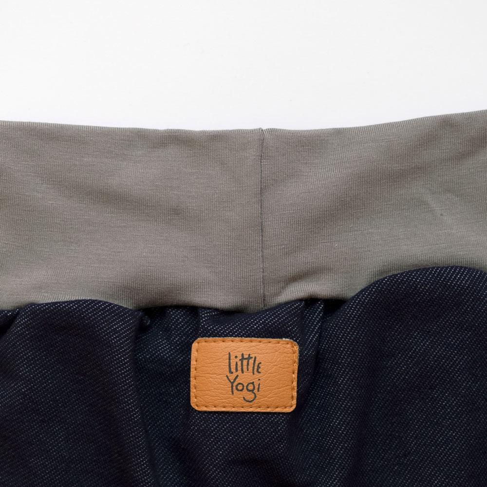 Aperçu taille shorts évolutif Little Jeggings de Little Yogi | Tiny Squirrel