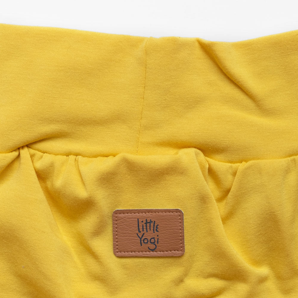 Aperçu taille shorts évolutif Little Sunshine de Little Yogi | Tiny Squirrel