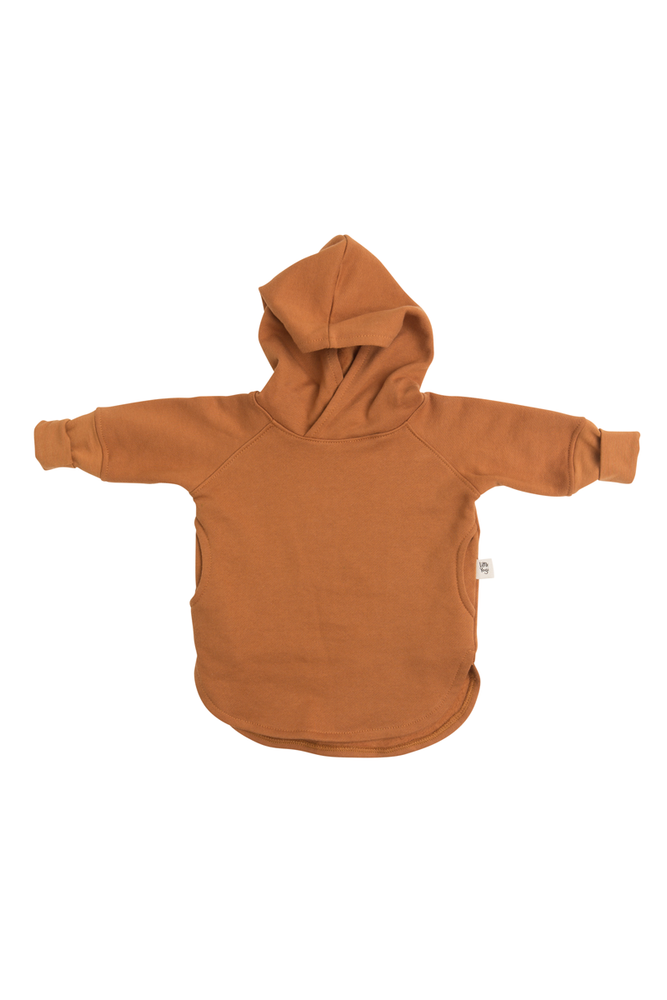Grow-with-me hoodie | Cooper by Little Yogi | Tiny Squirrel