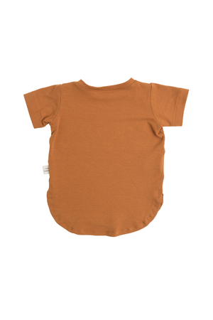 Back of the Cooper t-shirt by Little Yogi | Tiny Squirrel