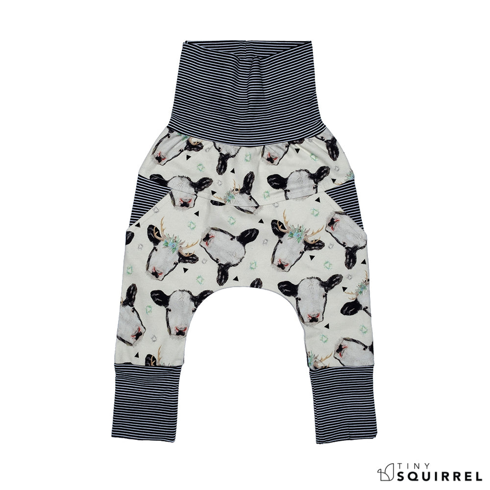 Grow-with-me pants | Little Cows