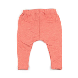Bamboo Terry Trousers | Heather Peach