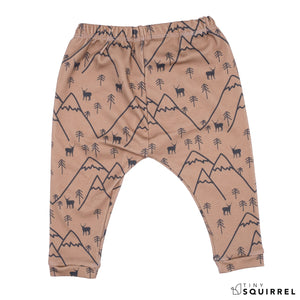 Organic Cotton Fitted Pants | Wilderness