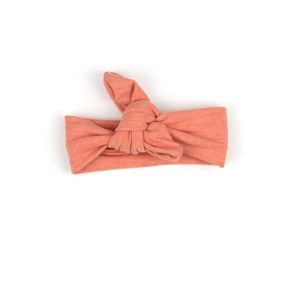 Knotted Headband | Heather Peach