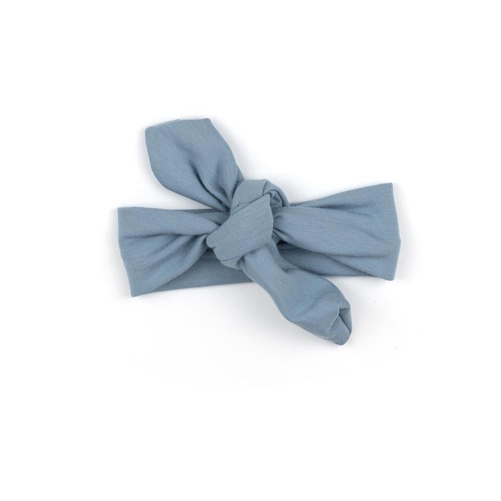 Knotted Headband | Vintage blue