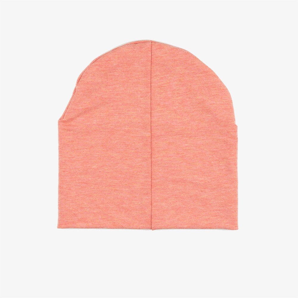 Bamboo Beanie | Heather Peach