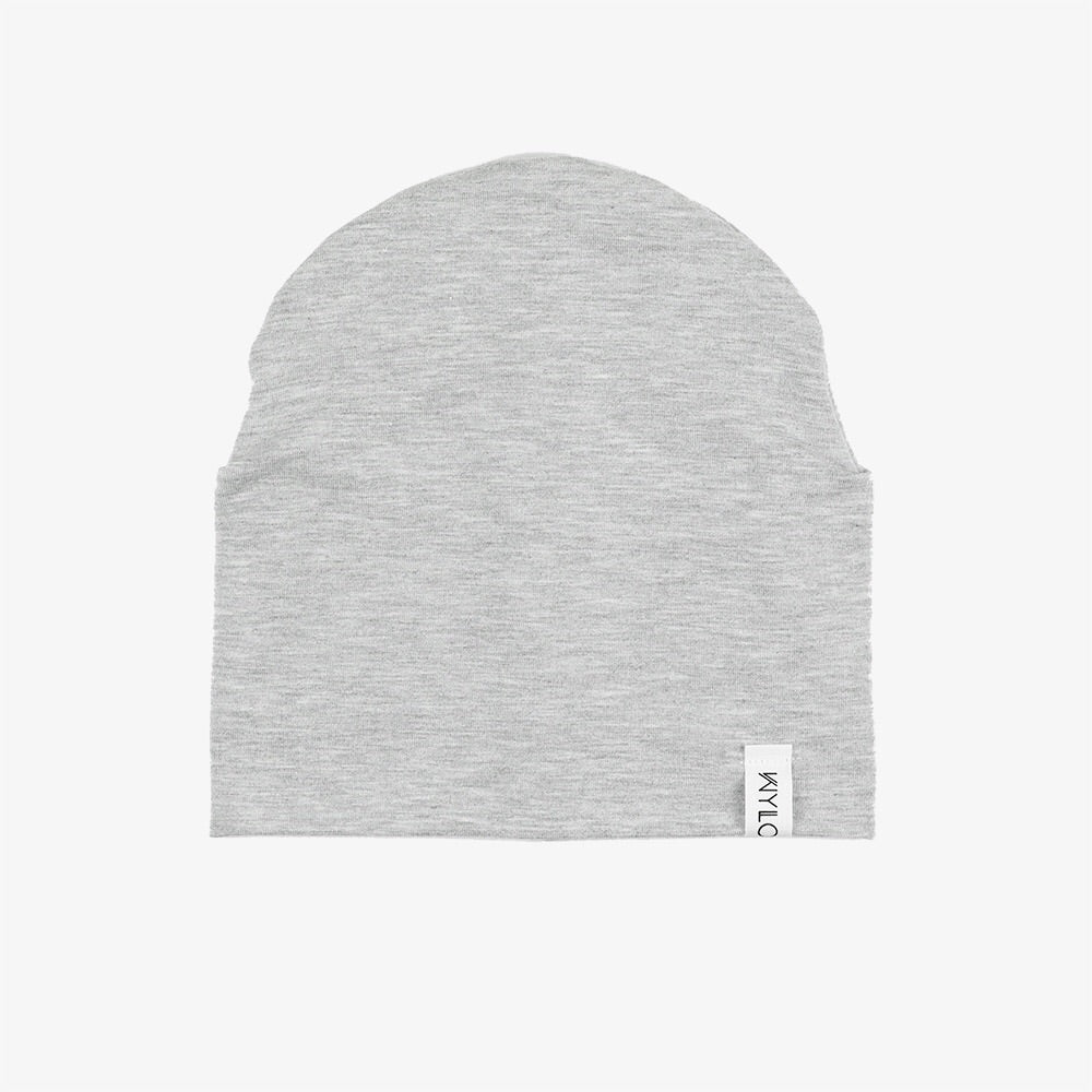 Bamboo Beanie | Heather Grey
