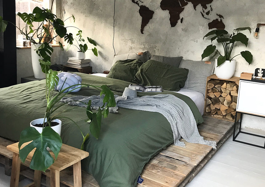 Jungle Thema Slaapkamer : Urban jungle bedroom u2013 van morgen