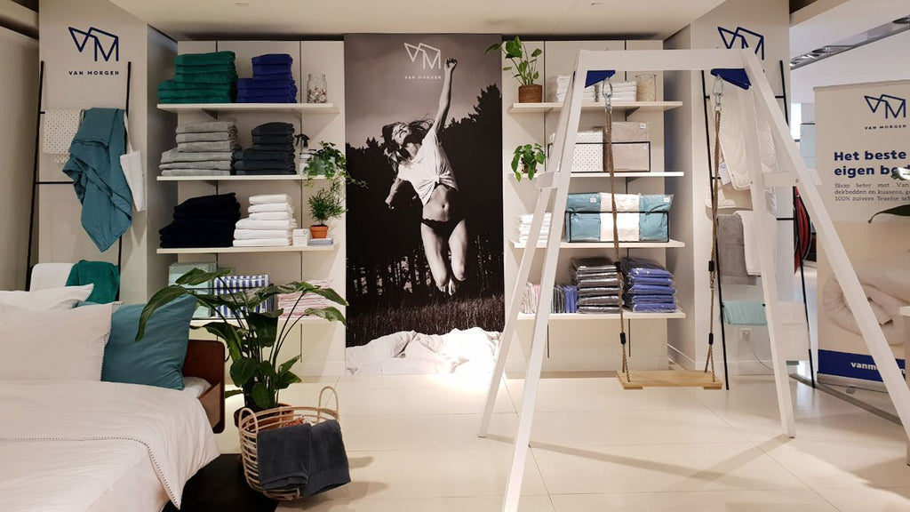 Van morgen pop-up store