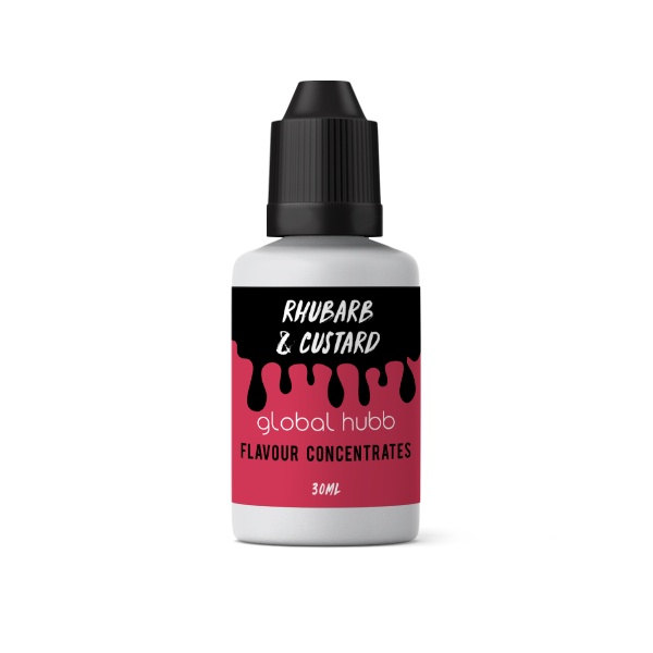 Flavour Concentrate - Rhubarb & Custard
