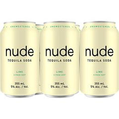Nude Soda Tequila - Lime