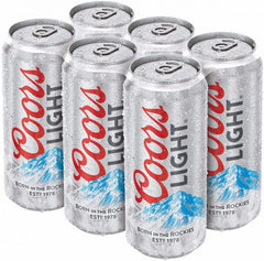 Coors Light 6 Tall