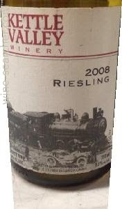 Kettle Valley Sweet Riesling