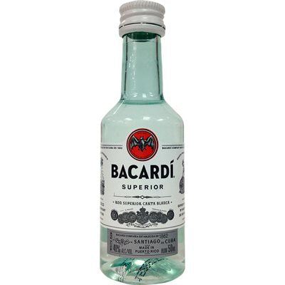 Bacardi White 50ml