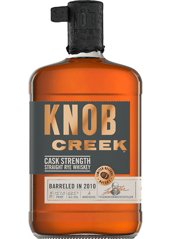 Knob Creek Cask Strength 2