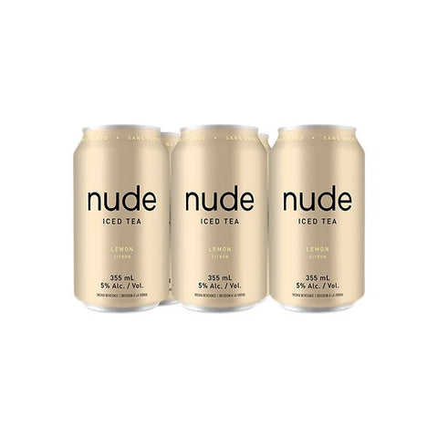 Nude Iced Tea - Lemon 6 pk