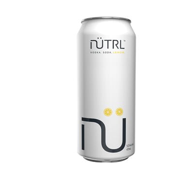 Nutrl - Lemon Vodka Soda 473ml