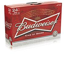 Bud 24 Cans