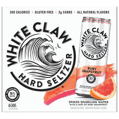 White Claw Grapefruit 6 pack