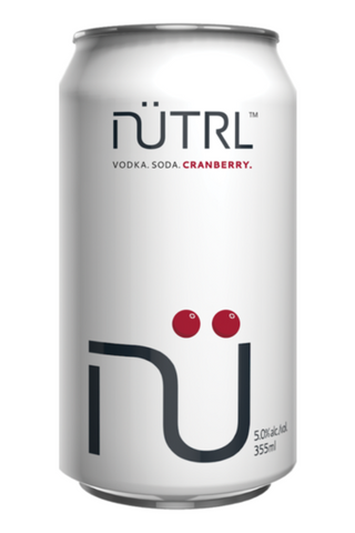 Nutrl Cranberry Vodka Soda