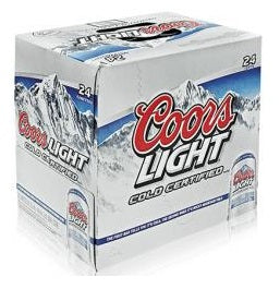 Coors Light 24 Cans