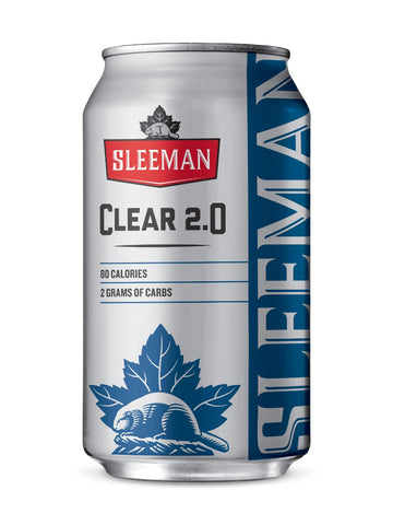 Sleeman Clear 8 cans