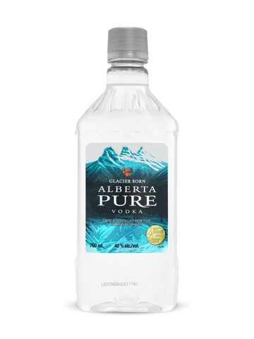 Alberta Pure Vodka Peta 750ml