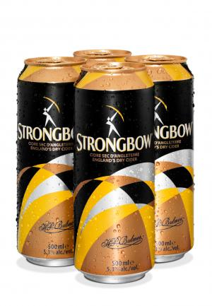 Strongbow Cans 4 PK