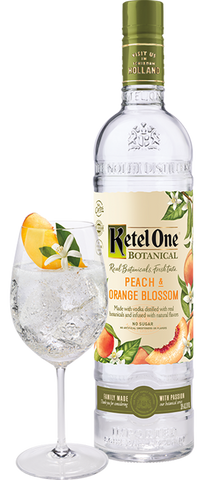K. One Botanical Peach Orange