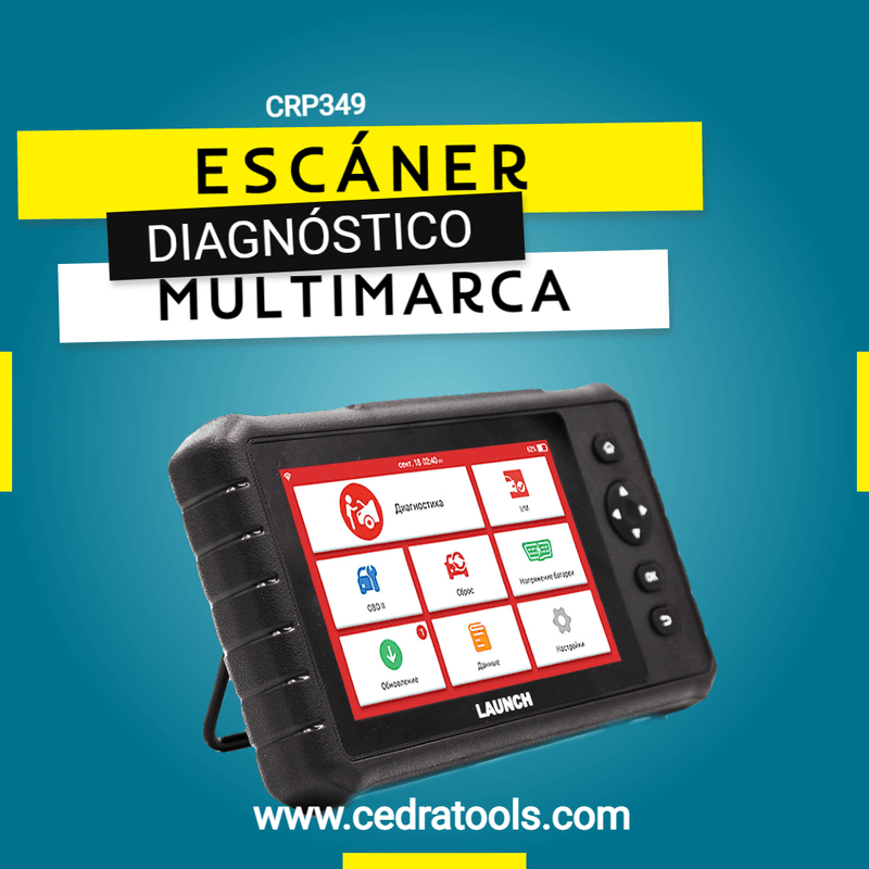 Escaner Launch Creader CRP 349
