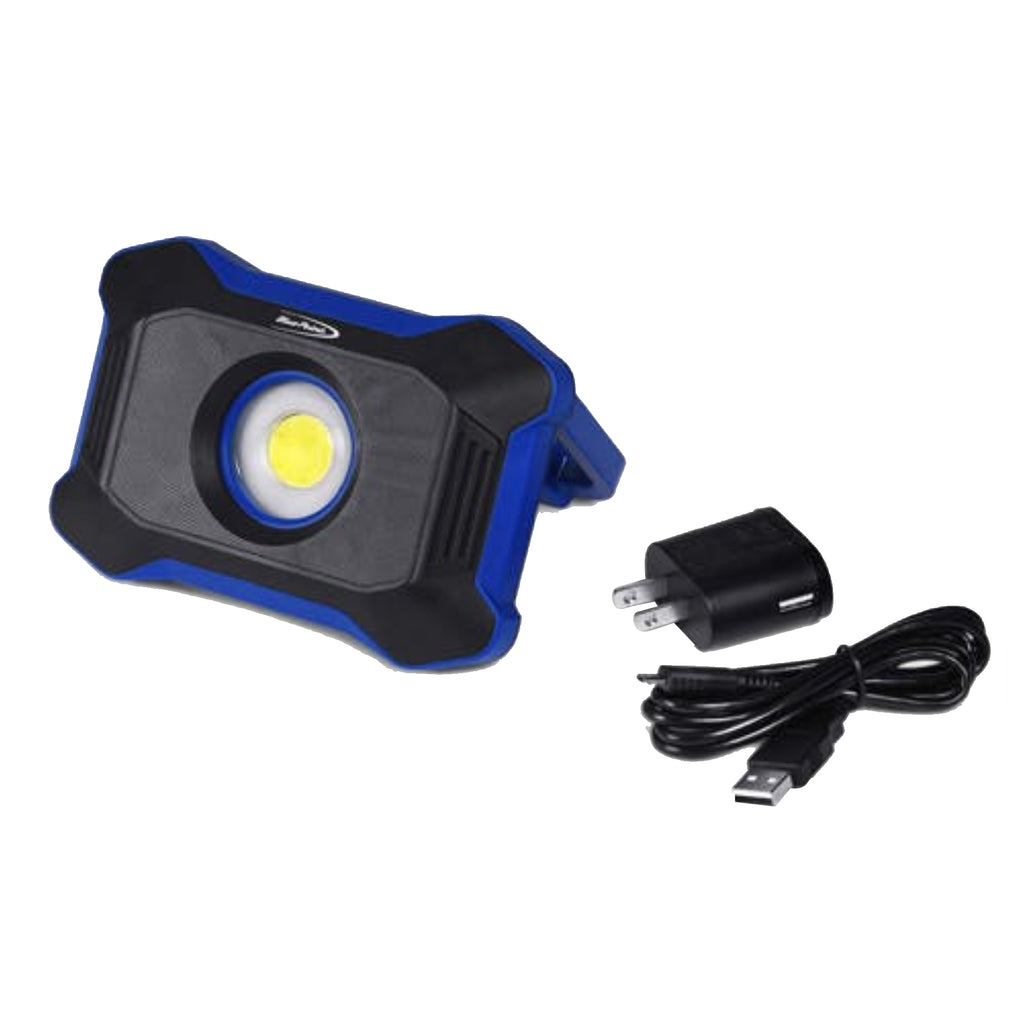Lámpara Led Recargable con Base Blue Point ECFD0102