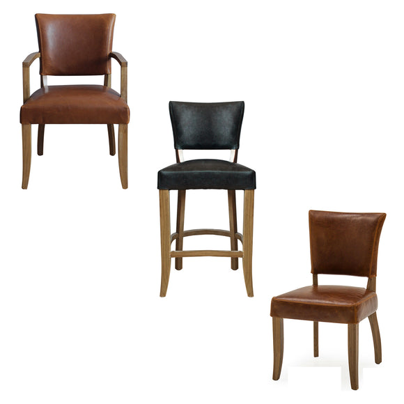 Jude Leather Chairs