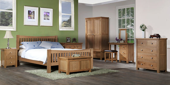 Oxford Oak Bedroom