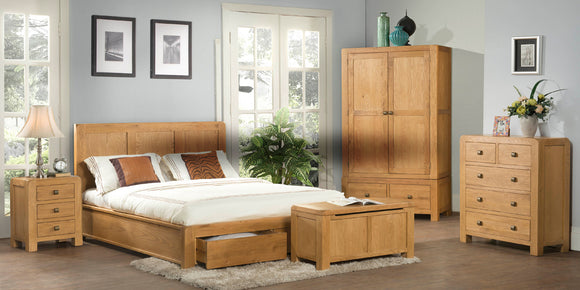 Sway Oak Bedroom